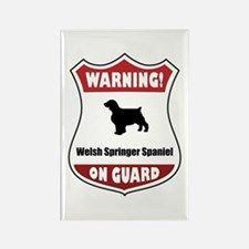 Welshie On Guard Rectangle Magnet (100 pack)