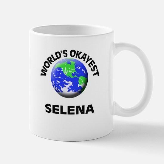 World's Okayest Selena Mugs