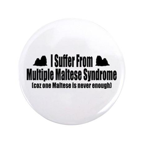 """Maltese 3.5"""" Button"""