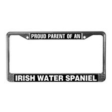 Irish Water Spaniel License Plate Frame