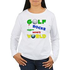 Golf Rocks Miya's World - T-Shirt