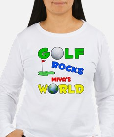 Golf Rocks Miya's World - T-Shirt