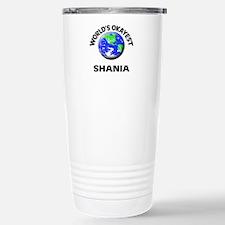 World's Okayest Shania Stainless Steel Travel Mug