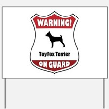 TFT On Guard Yard Sign