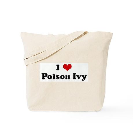 I Love Poison Ivy Tote Bag