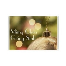 Vietnamese Merry Christmas Rectangle Magnet
