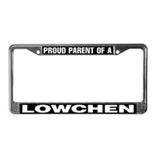 Proud Parent of a Lowchen License Plate Frame