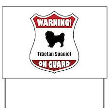 Tibbie On Guard Yard Sign