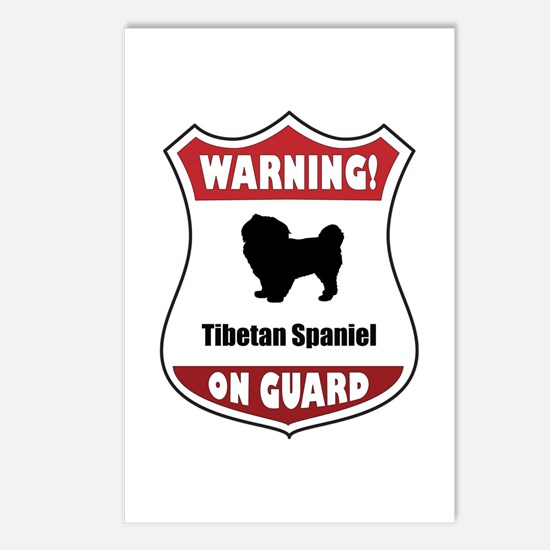 Tibbie On Guard Postcards (Package of 8)
