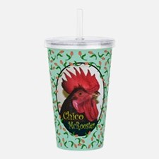 Chico McRooster Acrylic Double-wall Tumbler