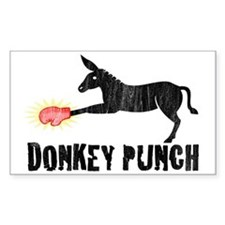 Donkey Punch Rectangle Decal