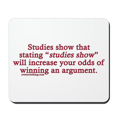 Studies Show Mousepad