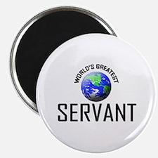 """World's Greatest SERVANT 2.25"""" Magnet (10 pack)"""
