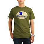 Blue Clover Tv Logo Oval Orgnc Men's T-Shirt (
