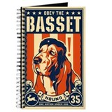 Basset hound journal Journals & Spiral Notebooks