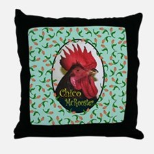 Chico Mcrooster Throw Pillow