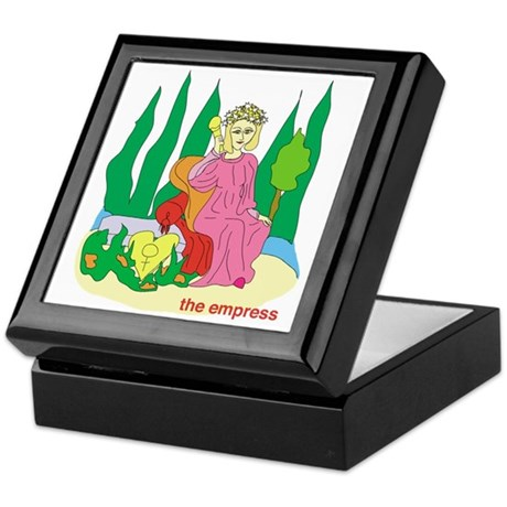 Empress Keepsake Box
