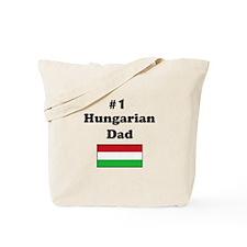 #1 Hungarian Dad Tote Bag