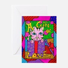 A Gift of Love Greeting Card
