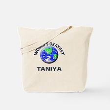World's Okayest Taniya Tote Bag