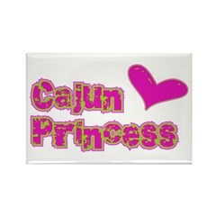 Cajun Princess Rectangle Magnet
