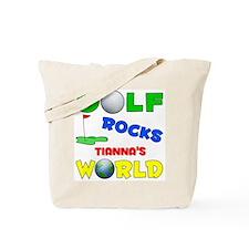 Golf Rocks Tianna's World - Tote Bag