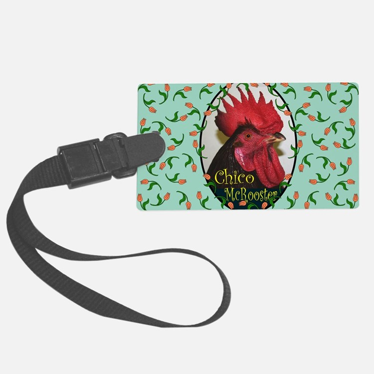 Chico McRooster Luggage Tag
