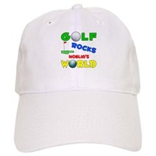 Golf Rocks Noelia's World - Baseball Cap