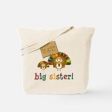little turkey sister Tote Bag
