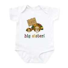 little turkey sister Infant Bodysuit