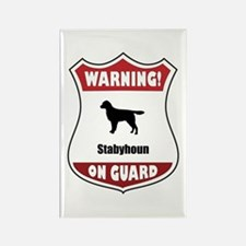 Staby On Guard Rectangle Magnet (100 pack)