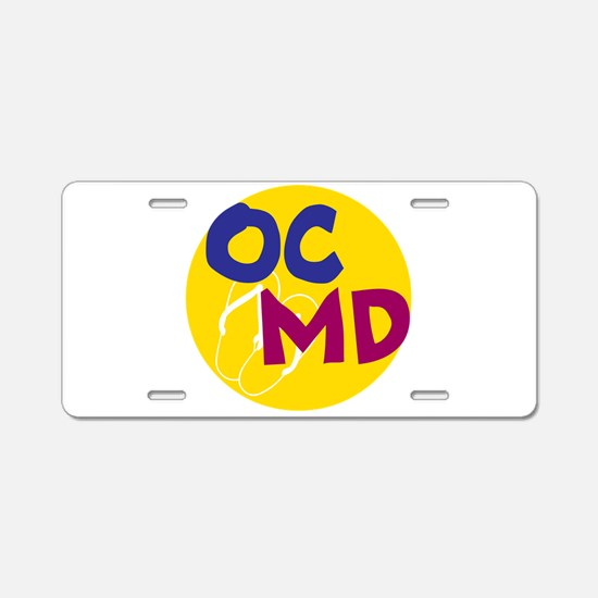 Ocean City, Maryland Aluminum License Plate