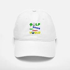 Golf Rocks Nyah's World - Baseball Baseball Cap