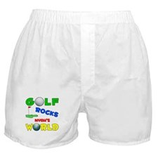Golf Rocks Nyah's World - Boxer Shorts