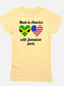 Funny Jamaican Girl's Tee