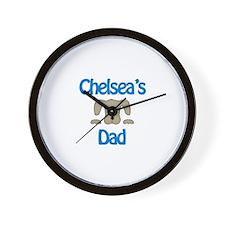 Chelsea's Dad Wall Clock