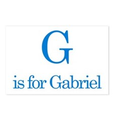 G is for Gabriel Postcards (Package of 8)