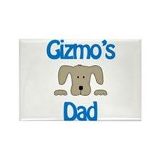 Gizmo's Dad Rectangle Magnet