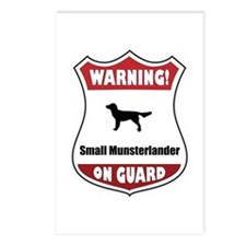 Moonster On Guard Postcards (Package of 8)