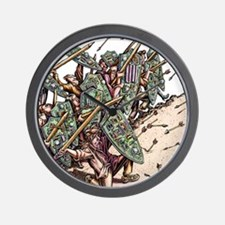 Internet Security Warriors Wall Clock