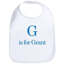 G is for Grant Bib