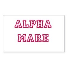 Alpha Mare Rectangle Decal