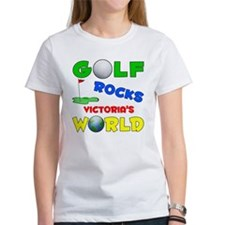 Golf Rocks Victoria's World - Tee