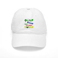 Golf Rocks Victoria's World - Baseball Cap