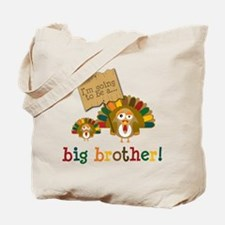 little turkey brother Tote Bag