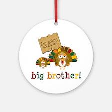 little turkey brother Ornament (Round)