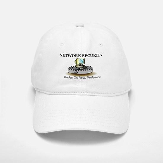 Network Security Baseball Baseball Cap