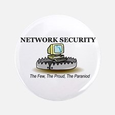 """Network Security 3.5"""" Button"""