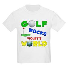 Golf Rocks Violet's World - T-Shirt