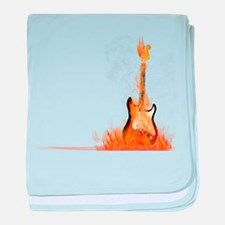 Hot Riffs baby blanket